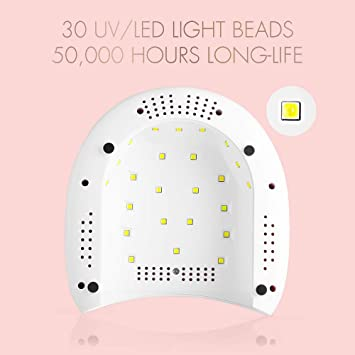 Led Nail Dryer Machine Built Led Chip Light Lamp Gel Timer Salon Advanced Uv Nail Care, Manicure & Pedicure