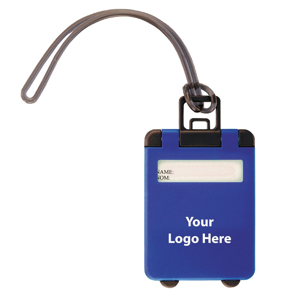 Taggy Luggage Tag - 425 Quantity - $0.80 Each - PROMOTIONAL PRODUCT / BULK / BRANDED with YOUR LOGO / CUSTOMIZED