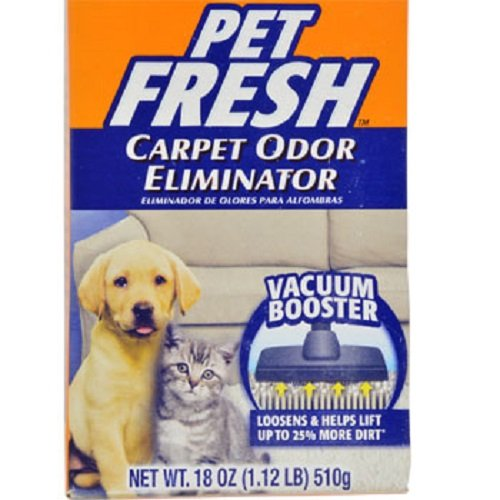 Arm & Hammer Pet Fresh Carpet Odor Eliminator, 18-oz. Boxes - 12 per order by Arm & Hammer