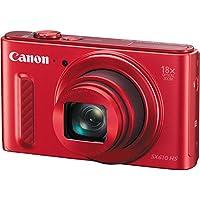 Canon PowerShot SX610 HS (Red) International Version (No...