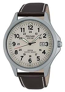 Pulsar Watches Sport - Reloj , correa de cuero