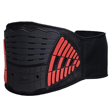 Motocross Waist Support Kidney Belt Motocross Racing Sport Protective Gear Red