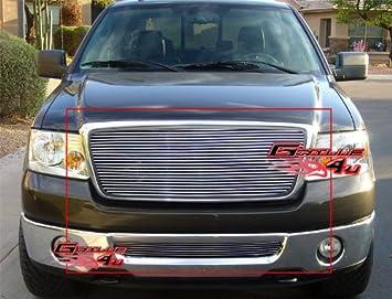 APS Compatible with 2006-2010 Ford Explorer Black Billet Grille Insert S18-H04356F