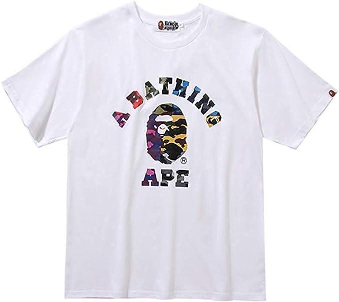 bape grey t shirt