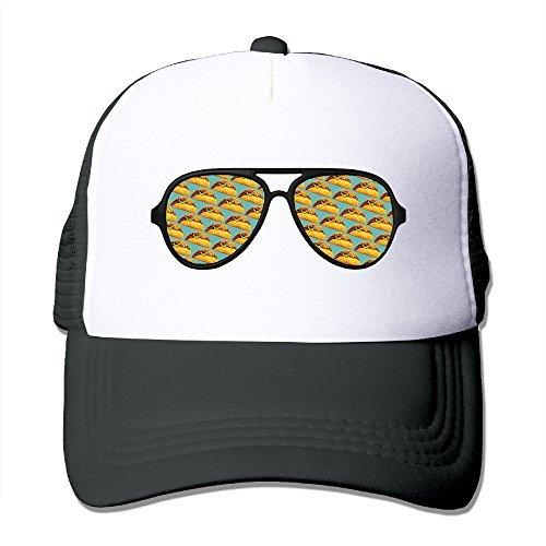 Taco Pattern Aviator Sunglasses Adult Unisex Truck Cap Snapback Cap Cap Mutiple - Sunglasses Tucson
