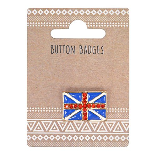 (Union Jack Pin Badge Size: 3cm x 2cm.)