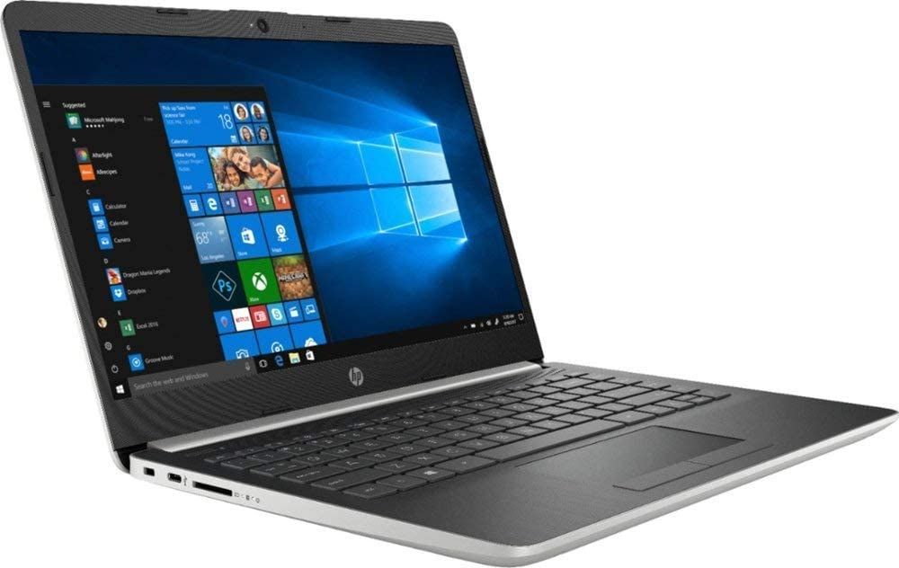 "HP 14"" Laptop (AMD A9-9425 up to 3.7 GHz, 4GB DDR4 RAM, 128GB SSD, AMD Radeon R5 Graphic, Wi-Fi, Bluetooth, HDMI, Windows 10 Home) (Renewed)"
