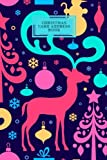 Christmas Card Address Book: Modern Notebook, Planner | Keep Track & Organise The Cards You Send & Receive | Xmas Card List | Alphabetical Order | 6 ... | Small Paperback (Season Holiday) (Volume 9)