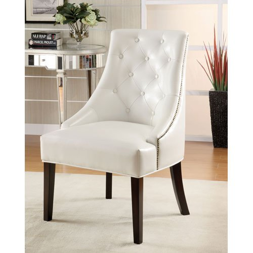 Coaster Leather Lounge Chair Finish