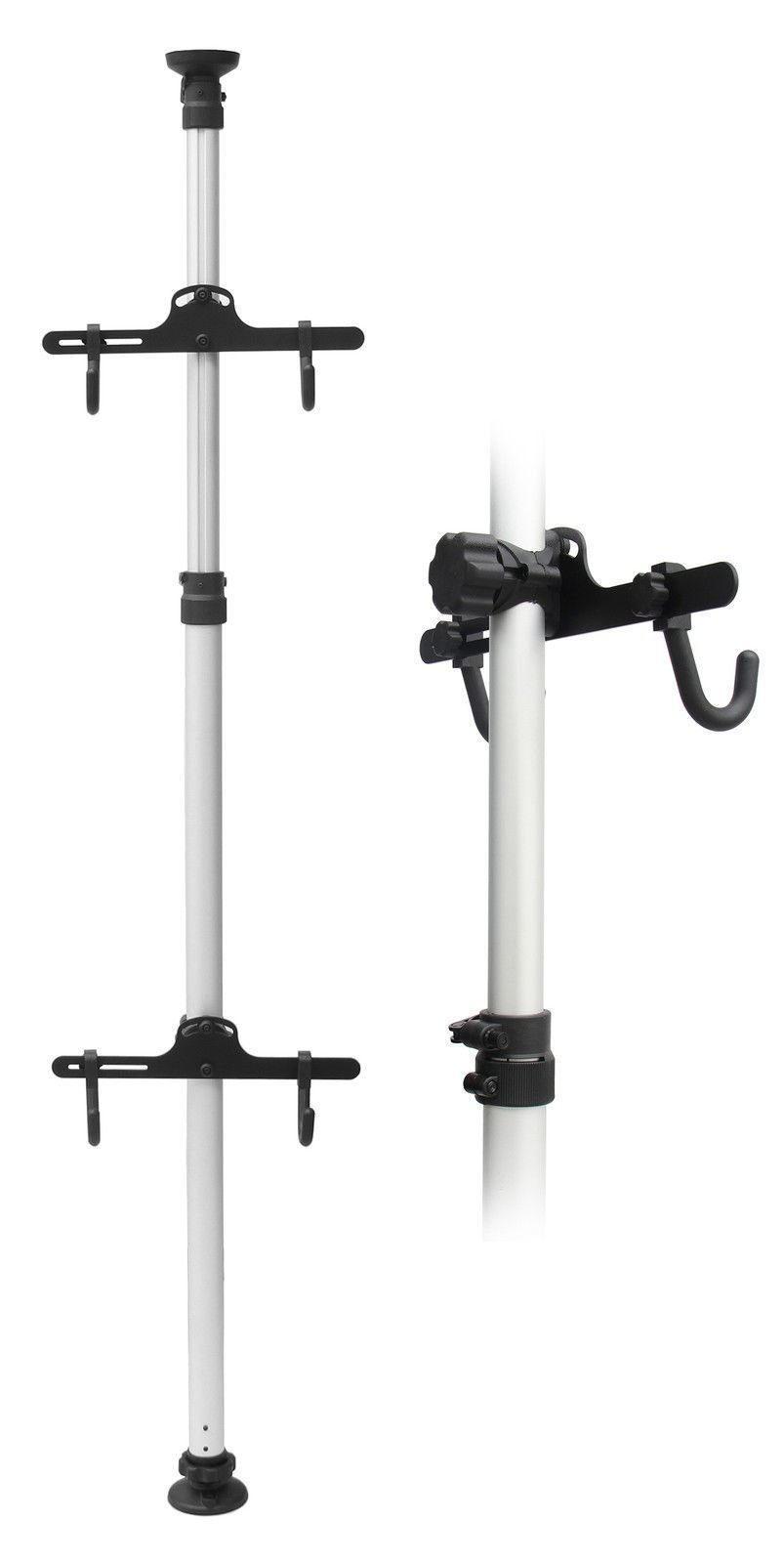 Bicycle Bike Hanger Parking Rack Storage Floor to Ceiling Stand 3.4m by CyclingDeal (Image #1)