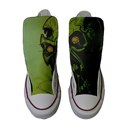 personalisierte Horror Star Schuhe Converse Schädel Produkt All Handwerk SFqnW80H