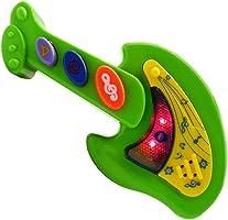 BRINQUEDO GUITARRA MUSICAL INFANTIL COM SOM E LUZ PARA BEBE MINI VIOLAO