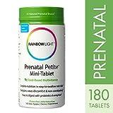 Rainbow Light - Prenatal Petite Mini-Tab Multivitamin, 180 Tab, Iron, Folic Acid, Digestive Support
