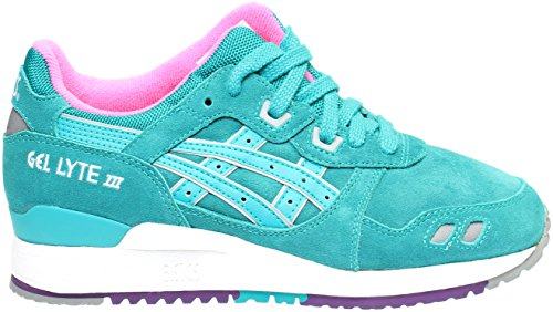 Asics H511l-7878: Gel-lyte Iii All Weather Pack Verde Sneaker Big-kids / Ragazza / Donna Tropicale Verde / Tropicale Verde