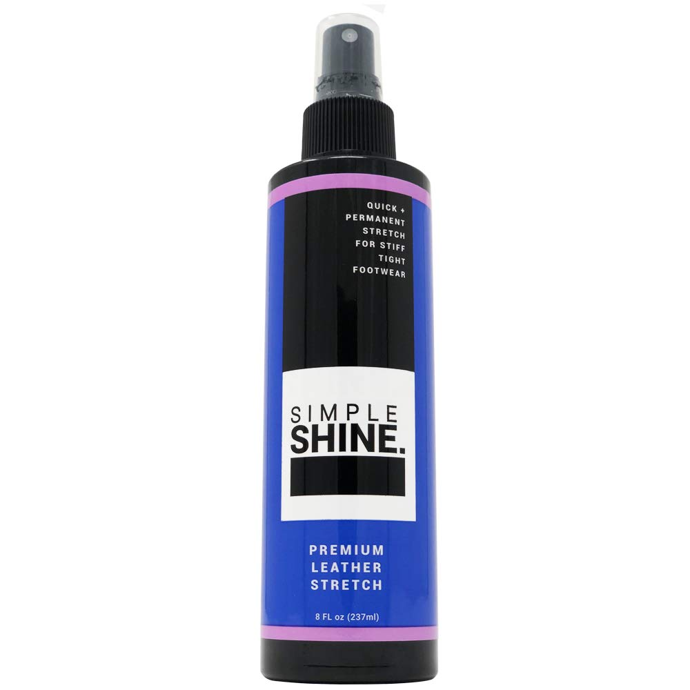 Premium Leather Stretch Spray | Liquid Stretching Shoes, Boots & Gloves Leather, Suede, Nubuck | Safe Stretcher 8oz