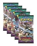 Pokemon Sonne & Mond Serie 2 Stunde der Wächter - Booster Pack - Deutsch (5 Booster)
