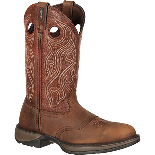 Durango Men's DB5474 Western Boot, Dusk Velocity/bark Brown, 10 M US