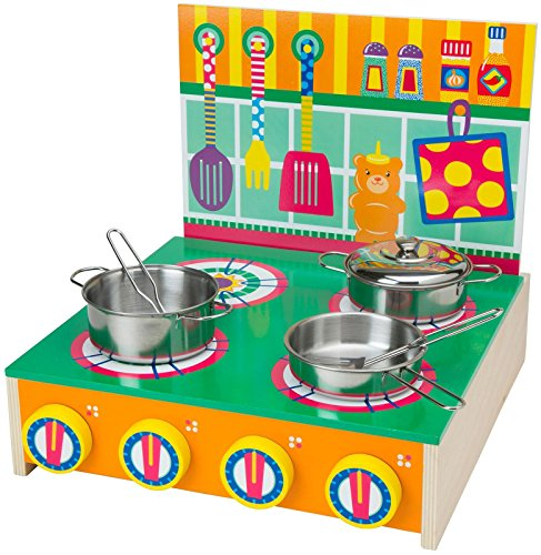 ALEX Toys Playtime Stove (Alex Toys Wooden Cook Top compare prices)