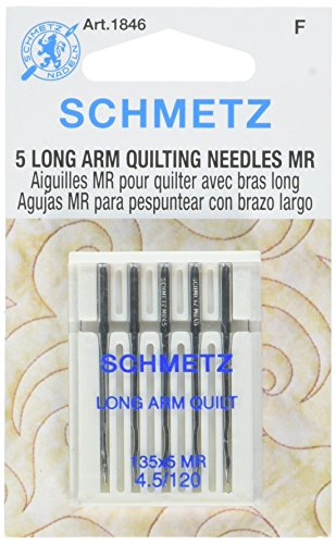 Long Arm Needles - Schmetz Longarm Quilting Machine Needles Size 4.5/120