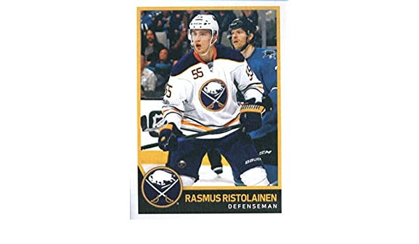 f669fdf94 Amazon.com  2017-18 Panini Stickers  31 Rasmus Ristolainen Buffalo Sabres  Hockey Card  Collectibles   Fine Art