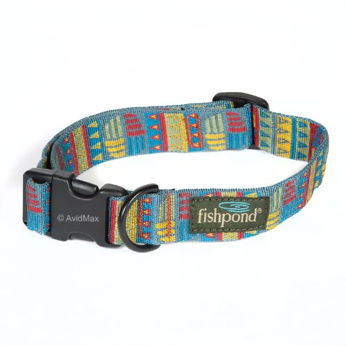 Fishpond Bow Wow Dog Collar - Med. (15-24Inch) - Tomichi