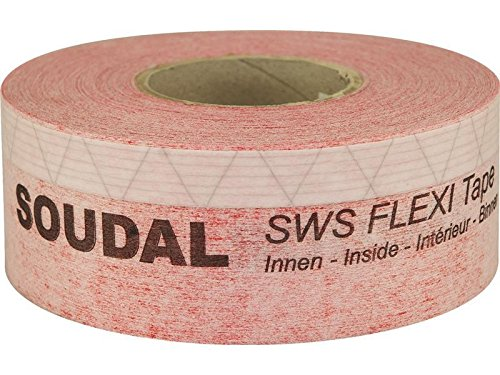 SWS Flexi Tape Inside flexible cinta aislante para ventanas 25  m x 250  mm Soudal