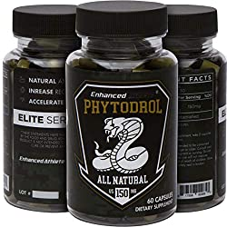 NATURAL ANABOLIC - Enhanced Athlete's Phytodrol is composed of Laxogenin, a robust, all natural plant-based compound that increase Anabolic levels without effecting hormone levels.