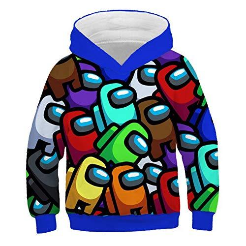 IFITBELT Jongens, meisjes, onder ons, 3D-hoodie, trui, kinderen, tieners, sweatshirt, casual, party, cosplay, jas, tops…