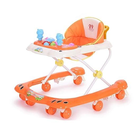 Andador para Bebés | Coche De Juguete Plegable Antivuelco ...