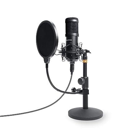 Sudotack - Micrófono de PC con USB Podcast, profesional, 96 KHZ/24 ...