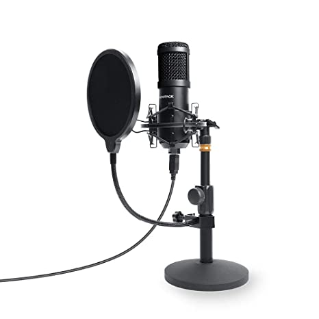 SUDOTACK Micrófono de PC USB Podcast, profesional 96 KHZ/24 ...