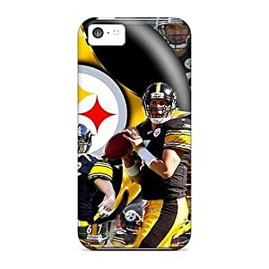 linJUN FENGDefender Cases For iphone 5/5s, Pittsburgh Steelers Pattern