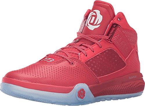 adidas Performance Hombre D Rose 773IV zapato de baloncesto Scarlet-black-white