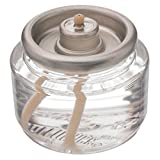 Hollowick HD10 Tea Light Fuel Cell Oil Candle Cartridge 10 Hour Liquid Fuel Cell (144 Pack)