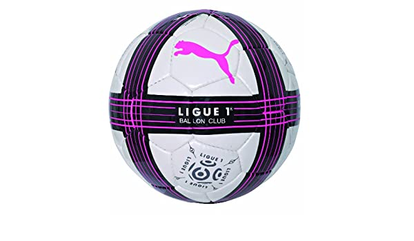 PUMA LFP Club balón fútbol Blanco/Negro/Rosa neón: Amazon.es ...