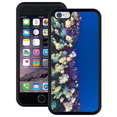 Wald Wasser | Handgefertigt | iPhone 6 6s (4,7') | Schwarze Hülle