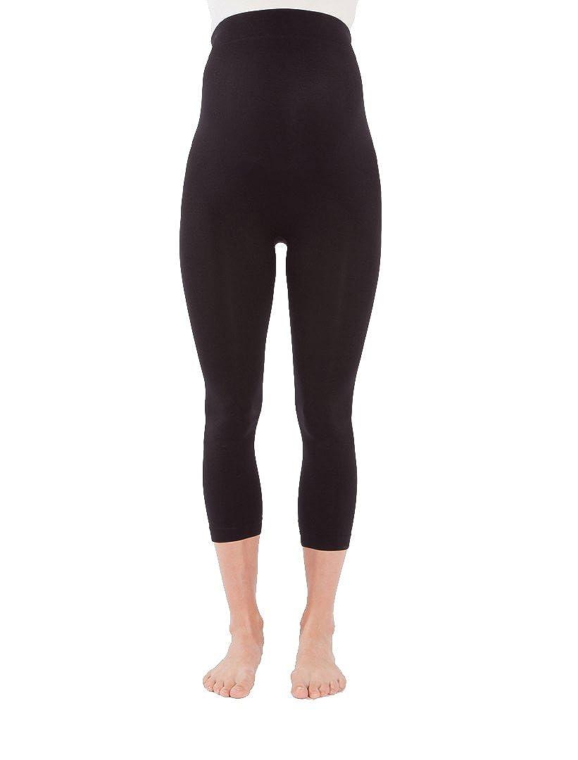 Modern Eternity Womens Basic Maternity Seamless Legging Capri Furi Design Inc. MEMSLG01C