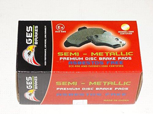 Dodge Caliber Mitsubishi Galant Chrysler Premium Quality Front brake Pads D866 by GES PARTS (Image #5)