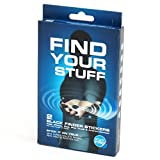 Smead Stick-N-Find Bluetooth Location Tracker with Key Fob, 2 per Pack (02218)