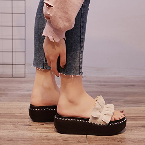 Beige IANGL Che Beige Donne Indossano Pantofole qYxIxBawH