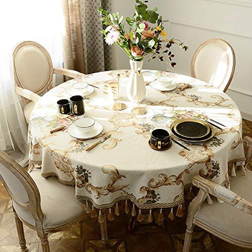 SPRICA Chenille Tablecloth, 63