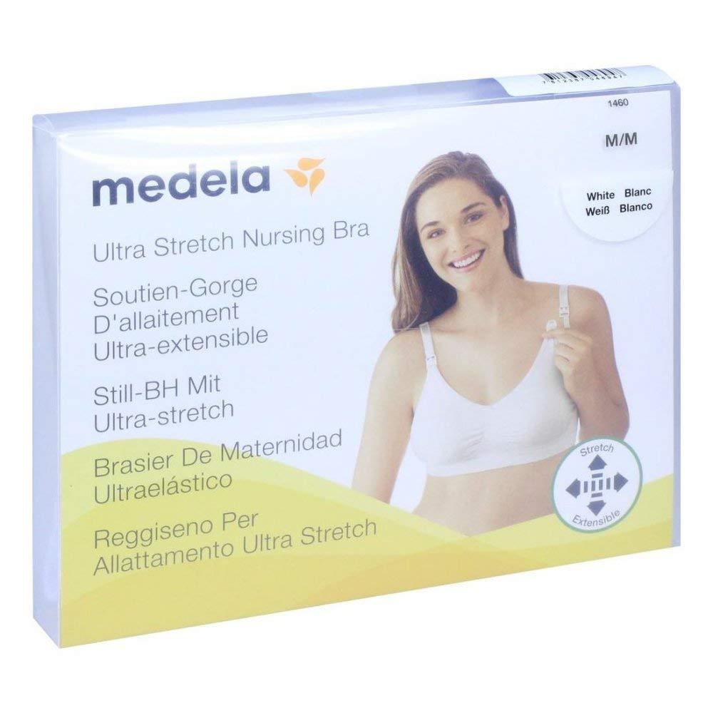 Medela Soutien-gorge de grossesse et dallaitement M Blanc
