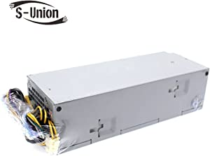 S-Union L240AM-00 240W Power Supply Compatible Dell Optiplex 3040 5040 7040 3650 3656 SFF THRJK 4GTN5 D7GX8 HGRMH 2P1RD H62JR 3RK5T B024NM-00 HU240AM-00 AC240EM-00 H240EM-00 D240AS-00 (8Pin+4Pin)