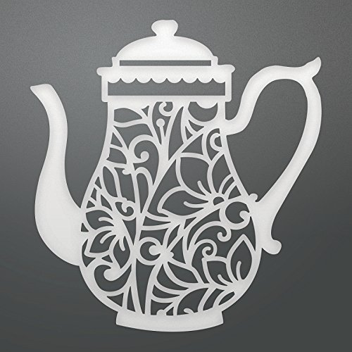 "Couture Creations Enchanted Tea Party Die-Enchanted Teapot 2.7""X2.9"""