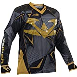 Valken Redemption Vexagon Jersey, Black/Gold, Medium