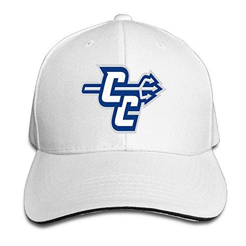 Central Connecticut State Blue Devils Helmet Sandwich Cap Size: Adjustable Caps.