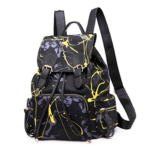 With Black Bolsa Mochila Antirrobo De Orange Impermeable Bandolera Igspfbjn Yellow Nylon Viaje color Bolso v1PqvZwC