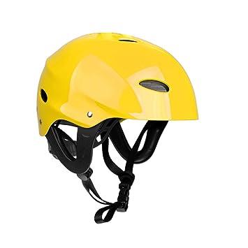 MagiDeal Casco de Seguridad con Correa Ajustable para Kayak Canoa Surf Bueco Accesorio para Deportes Acuáticos
