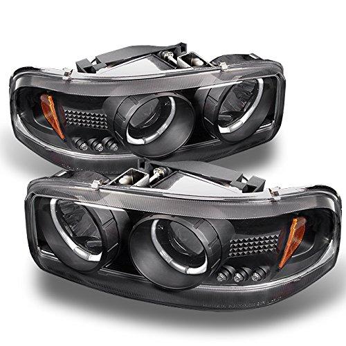 04 gmc sierra halo headlights - 8