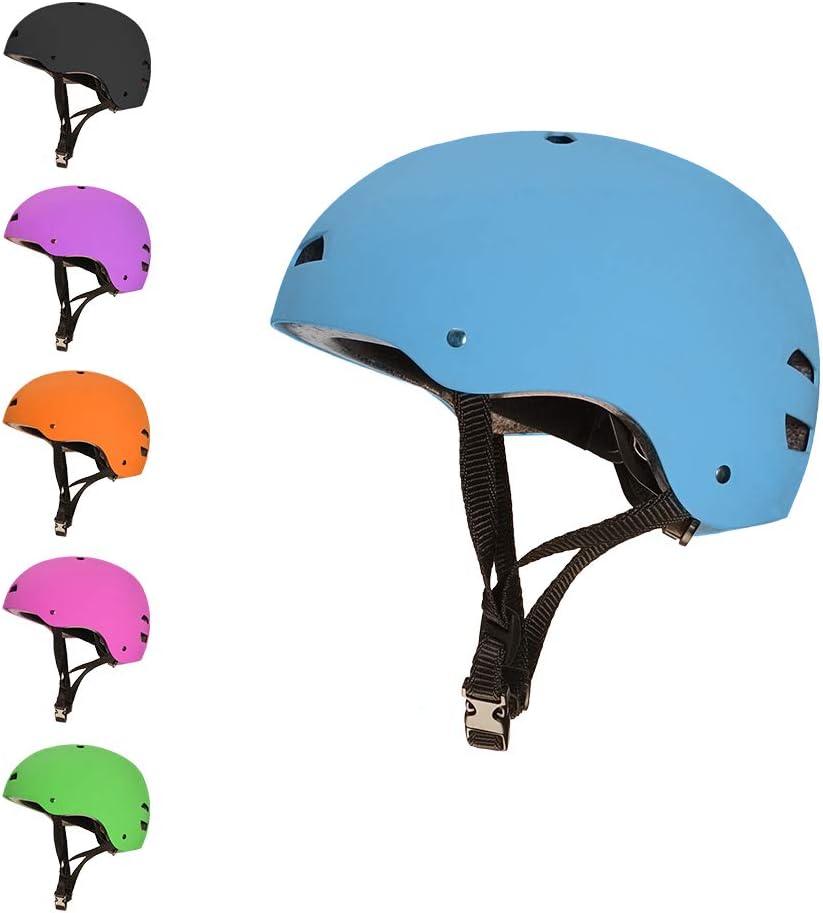 Pour la Trottinette Acrobatique le Skateboard et le BMX le Roller 3StyleScooters/® SafetyMAX/® Casque de S/écurit/é Multisports pour Enfants Convient aux Enfants de 7 ANS et Plus
